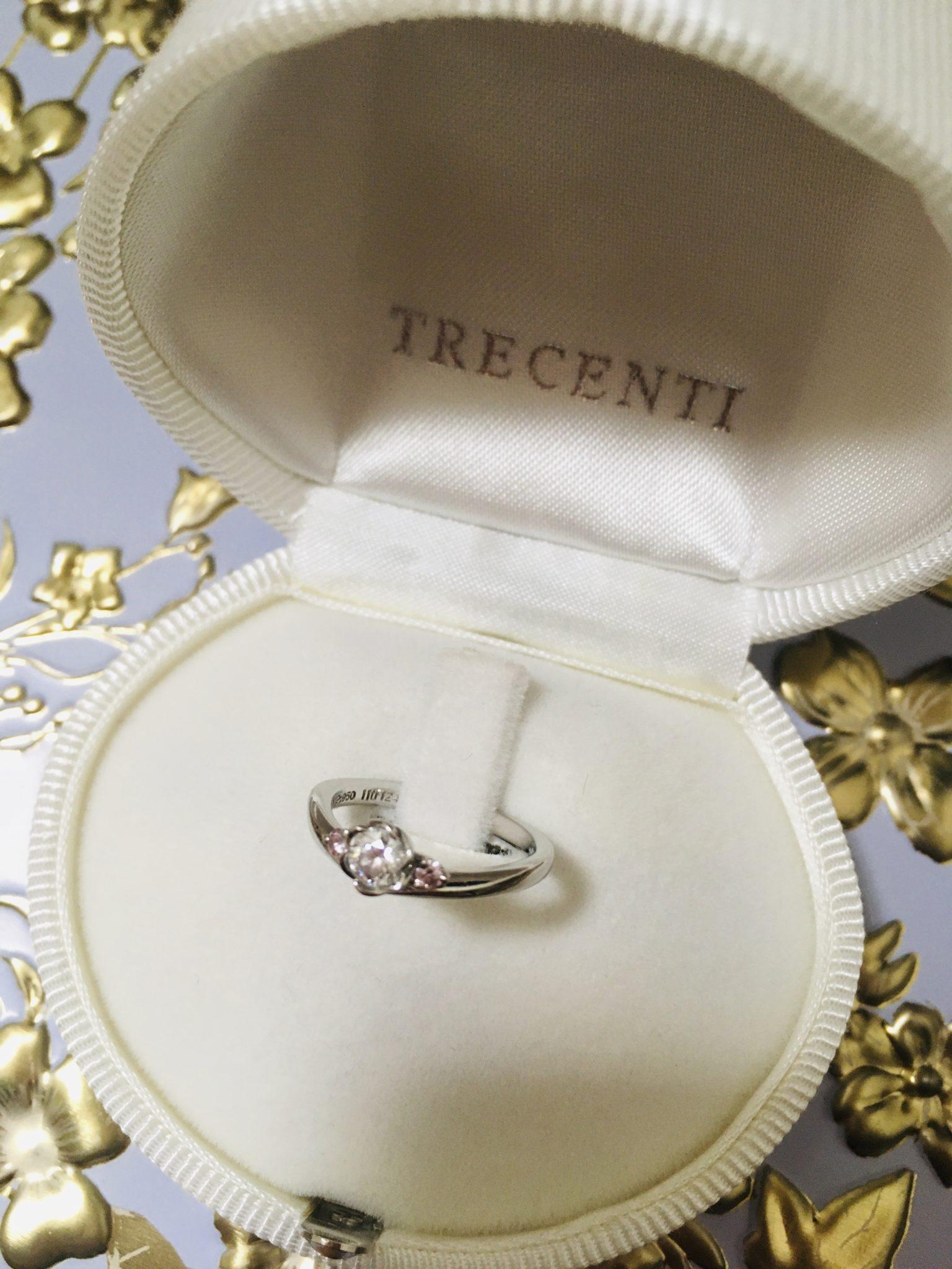トレセンテの婚約指輪1