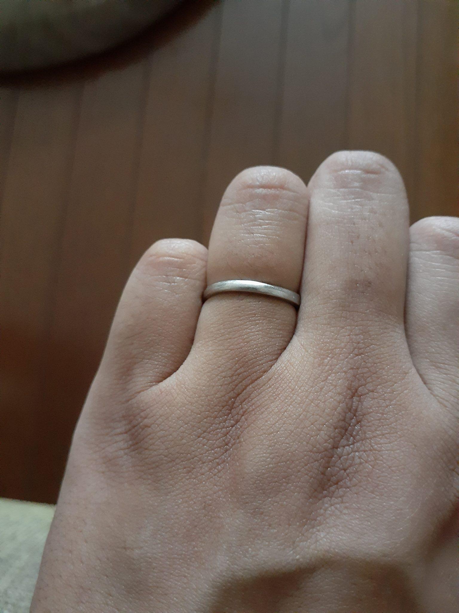 俄(にわか)の結婚指輪を購入した人