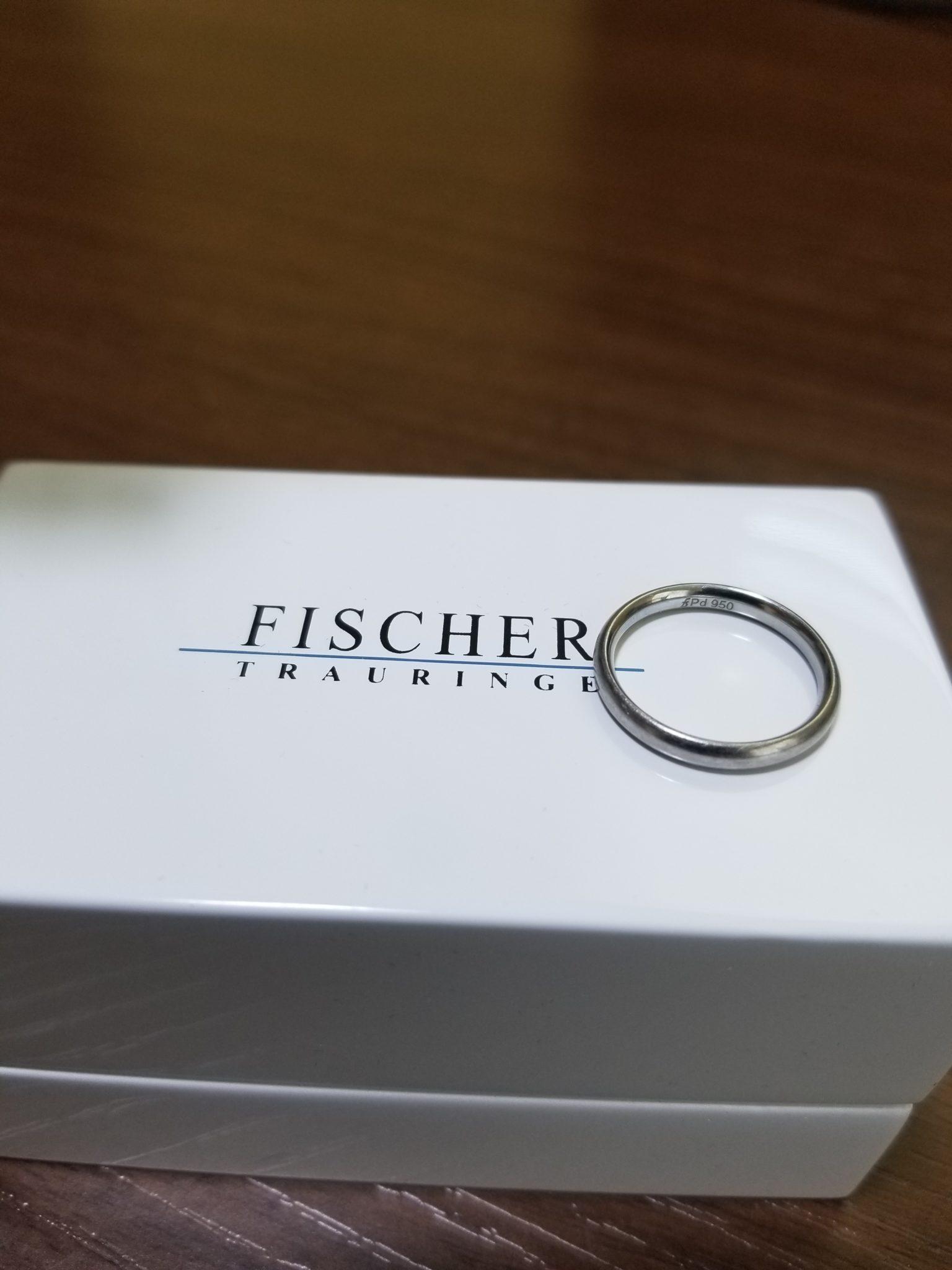 FISCHER(フィッシャー)の結婚指輪1